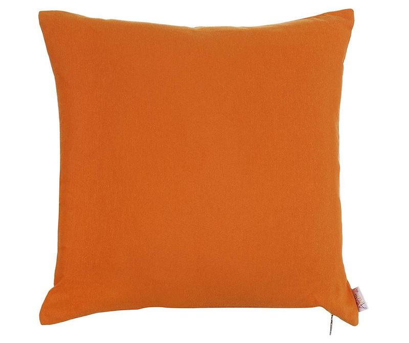 Fata de perna Thoughts Orange 41x41 cm