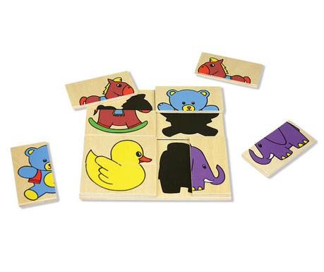 Joc tip puzzle 36 piese Compose
