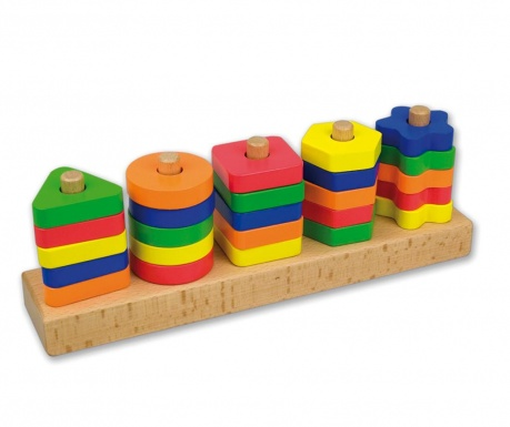 Zabawka edukacyjna 38 elementów Construction