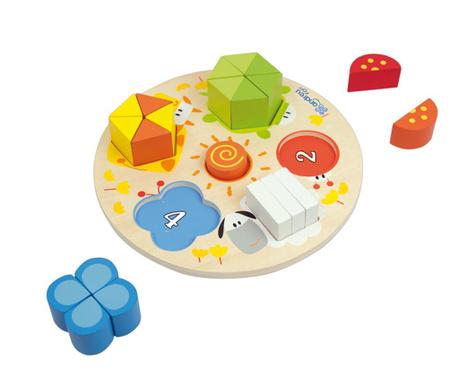 Joc tip puzzle 21 piese Soleil