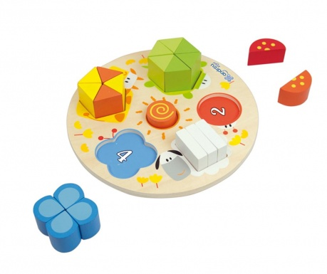 Gra typu puzzle 21 elementów Soleil