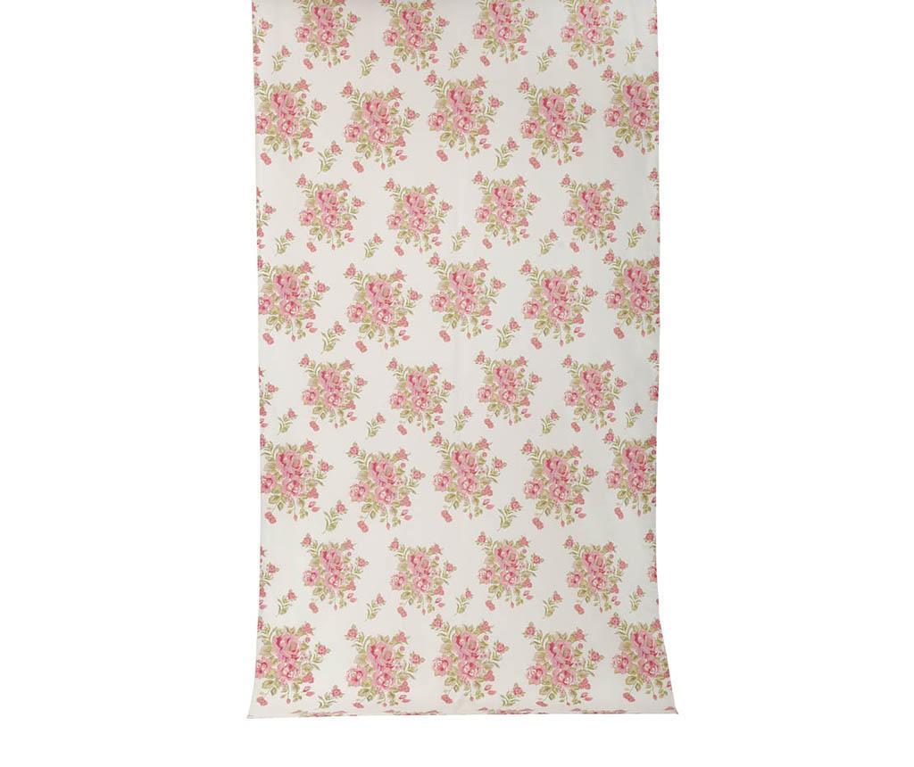 Roses White Coral Sötétítő 140x270 cm