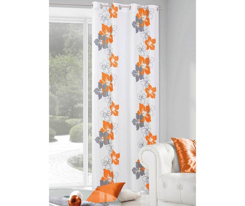 Zastor Glory Orange 140x250 cm