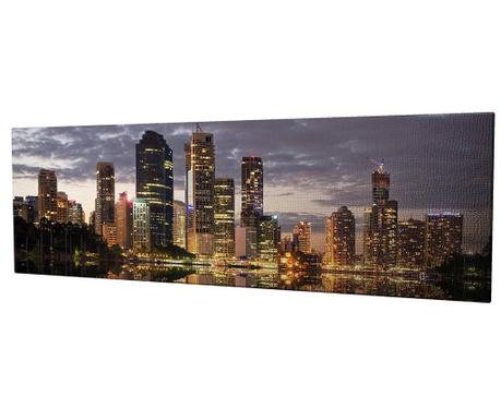 Tablou City 30x80 cm