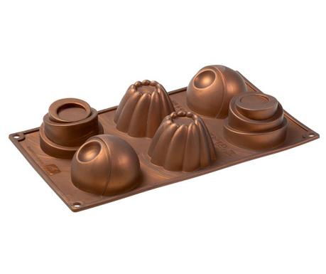 Mini Tarts Sütőforma 6 formával