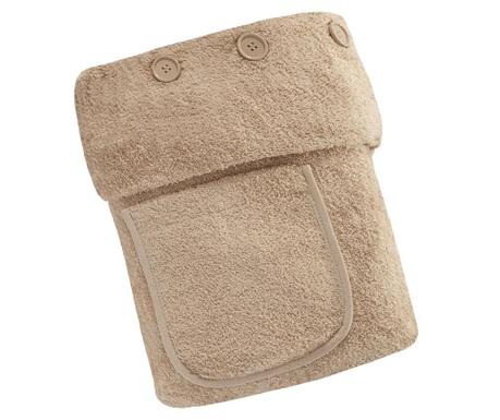 Ręcznik do SPA Buttons Beige 70x140 cm