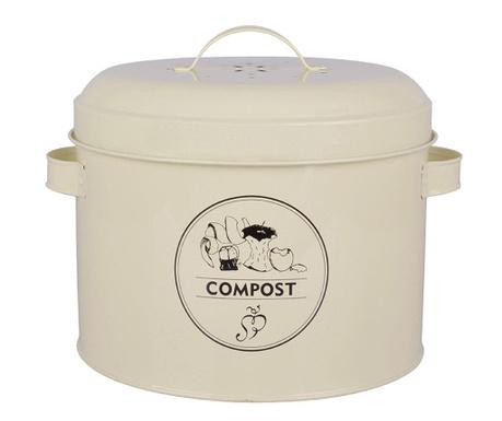 Recipient cu capac Galu Compost 6.325 L