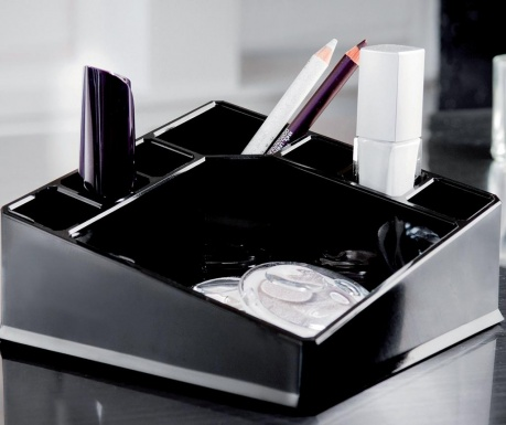 Organizator za kozmetiko Black Make-up