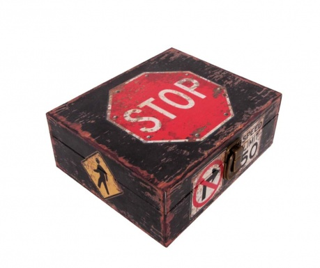 Kutija s poklopcem Stop Sign