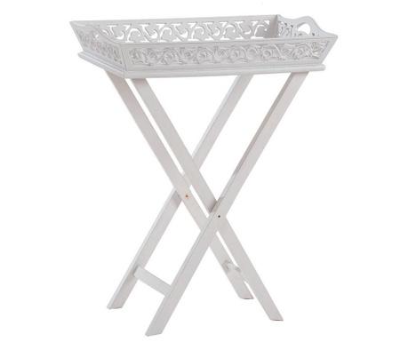 Romantic Összecsukható asztalka tálcával