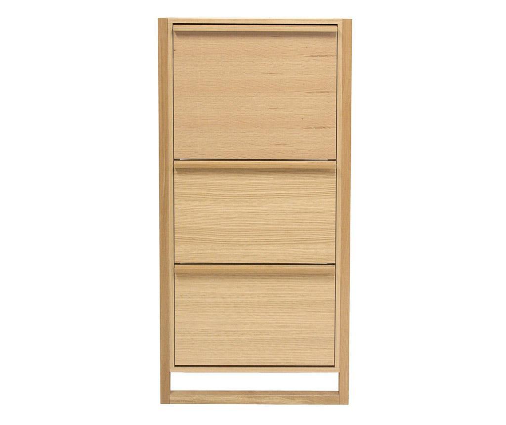 NewEst Three Doors Cipőtartó szekrény
