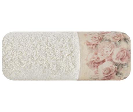 Anita Roses Cream Fürdőszobai törölköző 50x90 cm