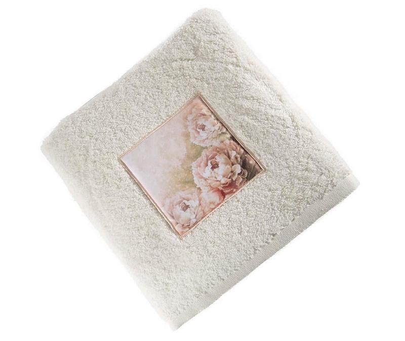 Ella Cream Fürdőszobai törölköző 70x140 cm