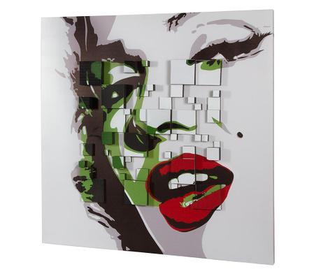 Marilyn Monroe 3D Effect Kép 100x100 cm