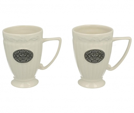 Set of 2 mugs Lamella 300 ml