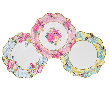 Сервиз 12 чинии за еднократна употреба Truly Scrumptious