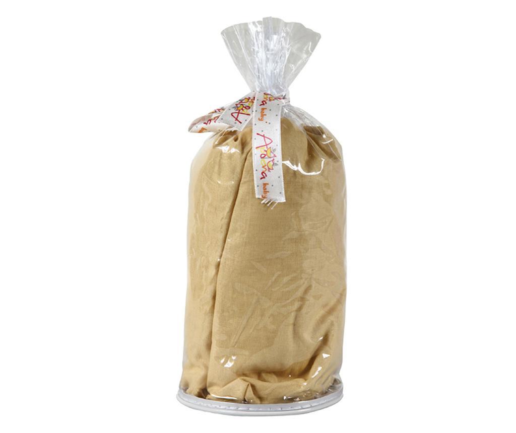 Долен чаршаф с ластик Ranforce Baby Mustard 70x140 см
