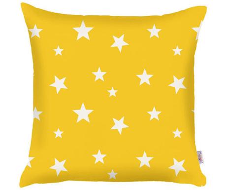 Fata de perna Stars Yellow 35x35 cm