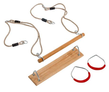 Fun Pack Trapéz gyűrűkkel és hintaülőkével