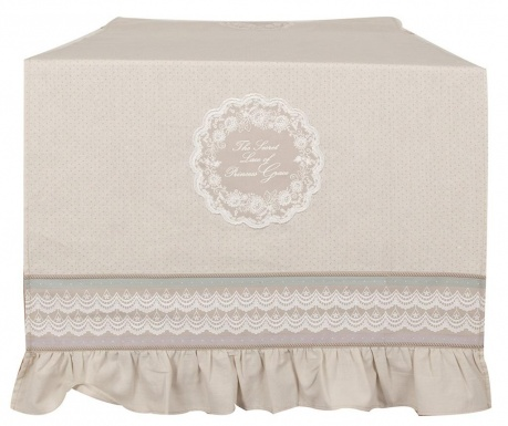 Traversa de masa Princess Grace Beige 50x120 cm