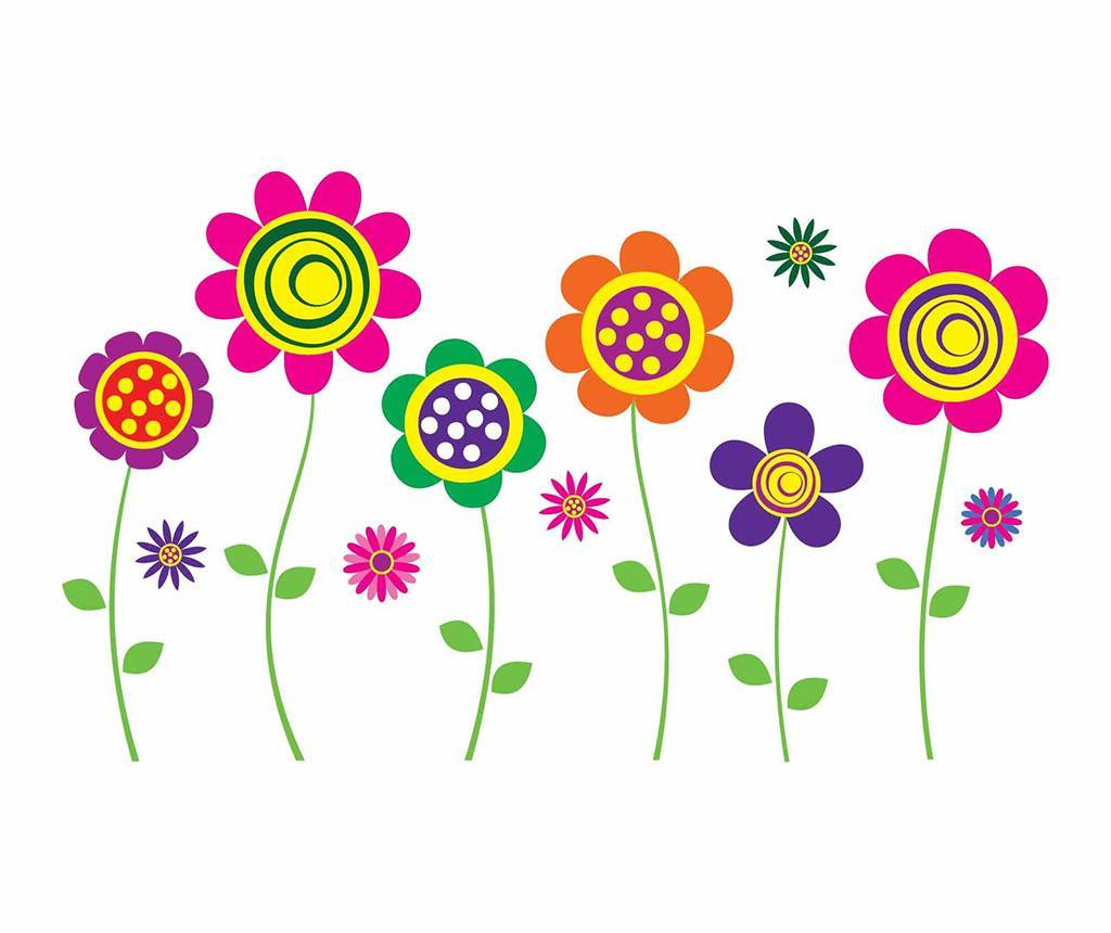 Nalepka Happy Flowers