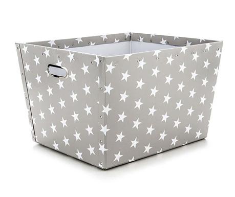 Cutie pentru depozitare Ajax Stars Light Grey L