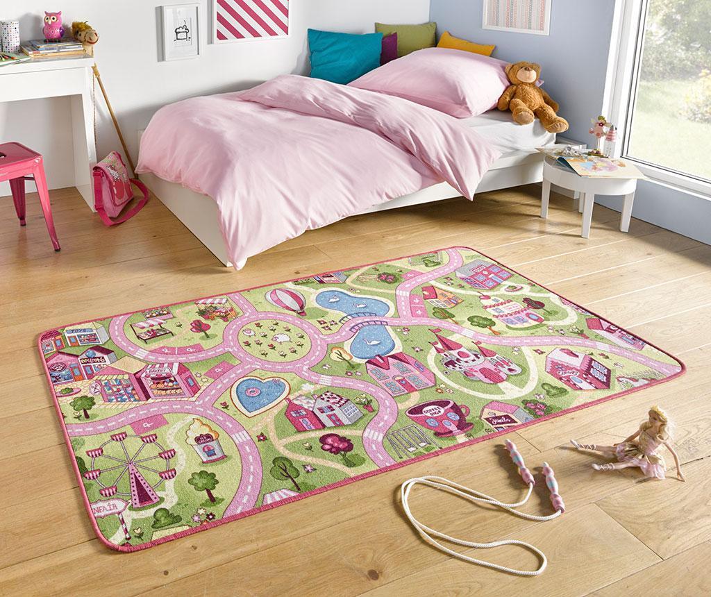 Tepih za igru Sweet Town Pink 200x300 cm