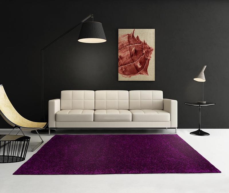 Tepih Zenit Aubergine 57x110 cm