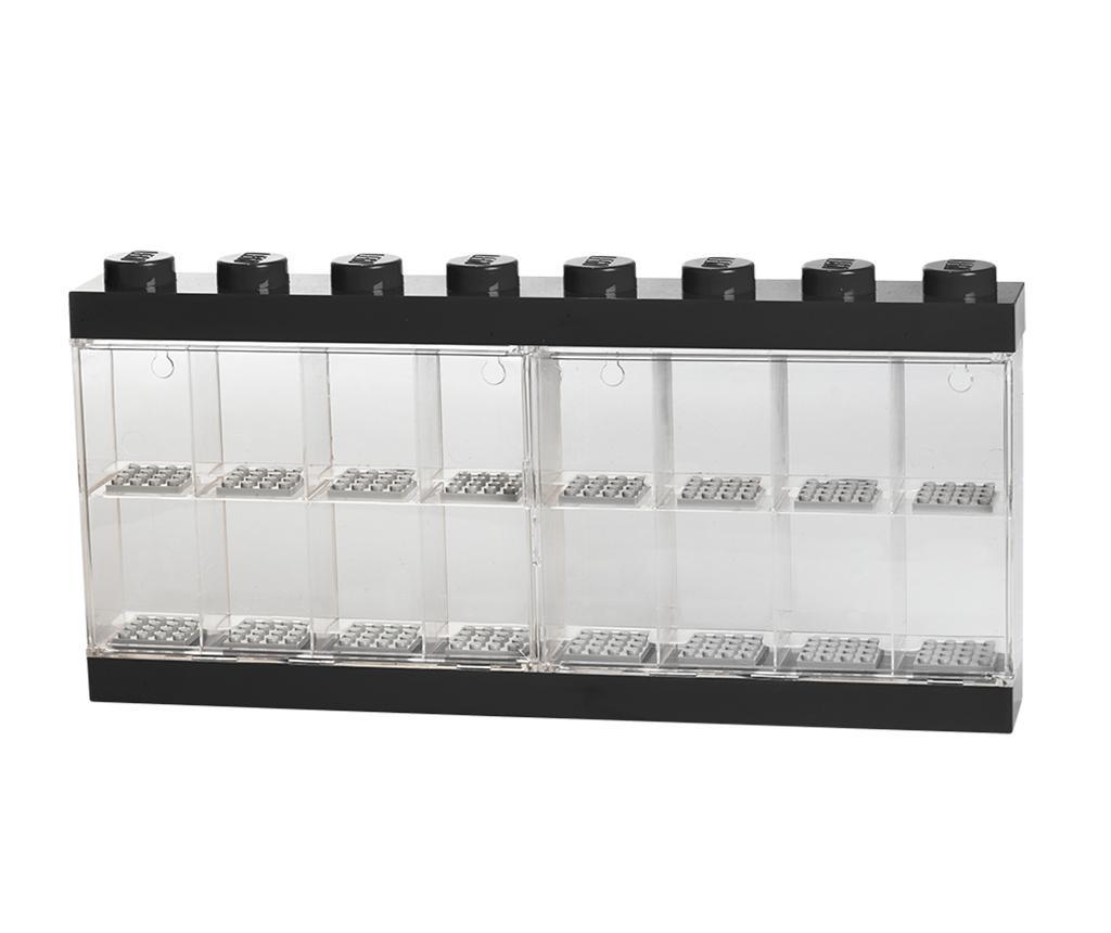 Cutie pentru 16 minifigurine Lego Black