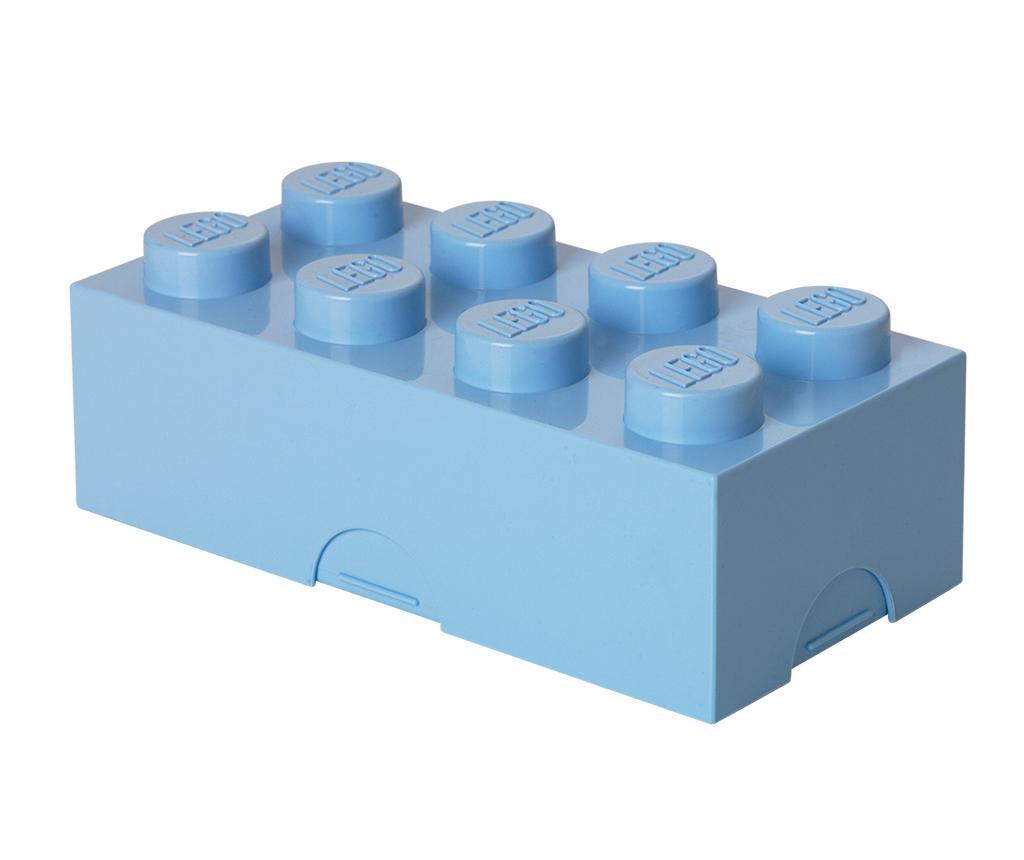 Lego Light Blue Uzsonnás doboz