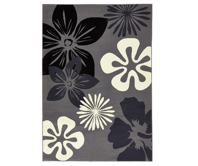 Килим Flowers Grey 120x170 см