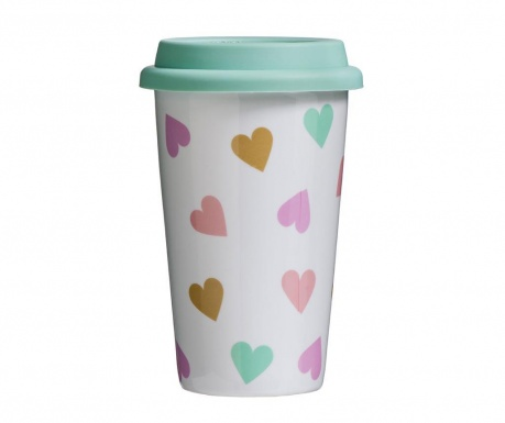 Travel mug Love Confetti 330 ml