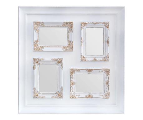 Рамка за 4 снимки Romantic Dream White