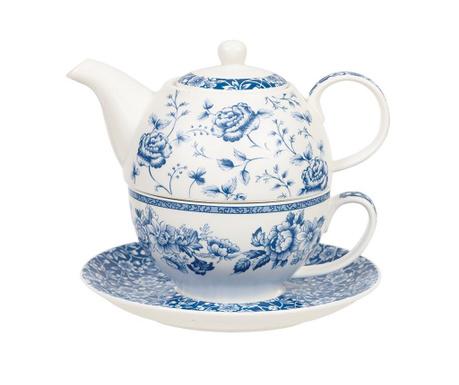 Sada čajník s šálkem a podšálkem Blue Story