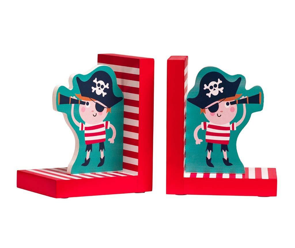 Pirate on the Sea 2 db Könyvtámasz