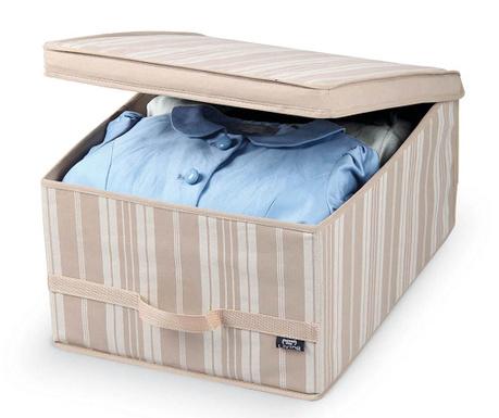 Shranjevalna škatla s pokrovom Stripes M