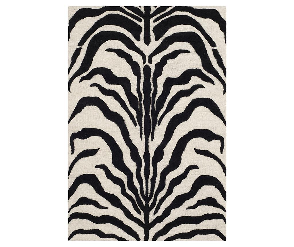 Nahla Ivory Black Szőnyeg 121x182 cm
