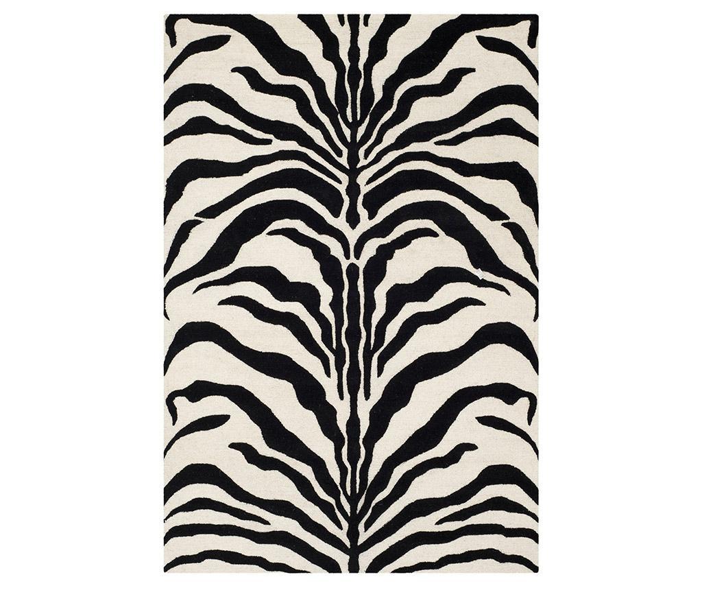 Koberec Nahla Ivory Black 182x274 cm