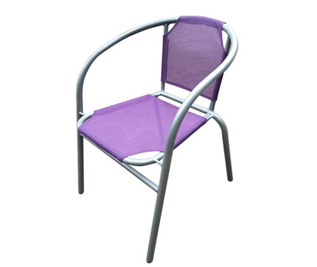 Vrtni stol Patrick Purple