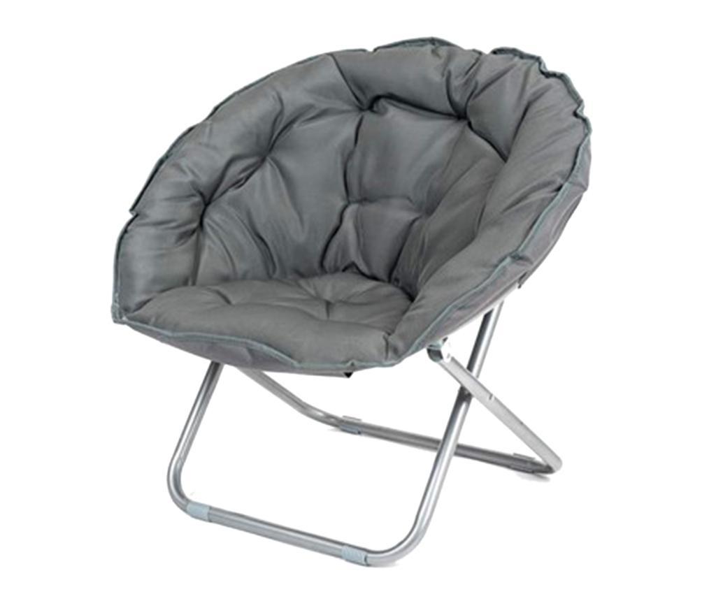 Сгъваем стол за екстериор Anzio Anthracite