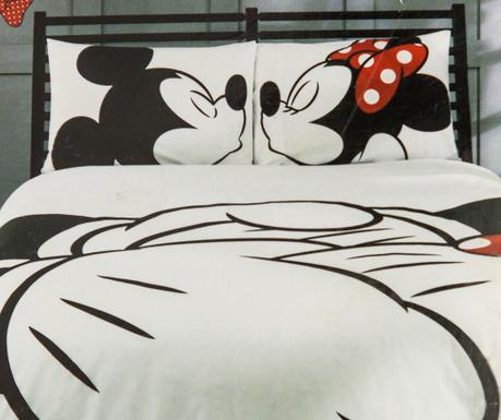 Ložní povlečení Double Mickey & Minnie Adore