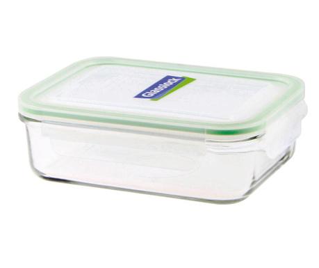 Zdjela s  hermetičkim poklopcem Compact Classic Rectangular Green 1 L
