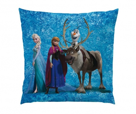 Disney Frozen Team Díszpárna 40x40 cm