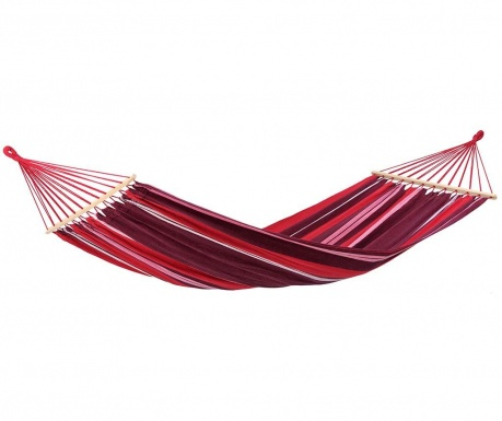 Hamac cu bare Samba Fuego 140x210 cm