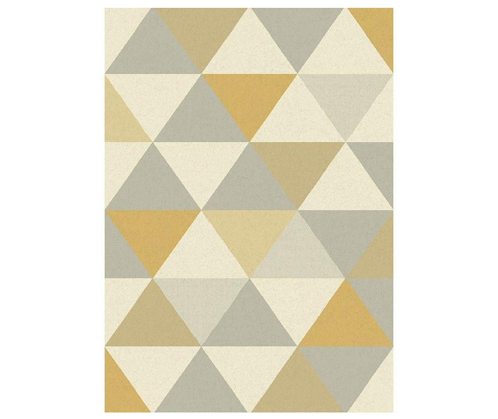 Koberec Focus Triangles Ochre 120x170 cm