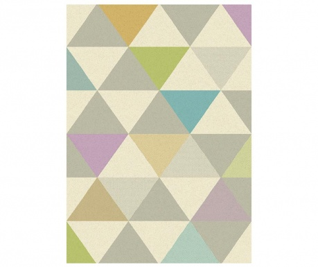 Dywan Focus Triangles Multicolor 80x150 cm