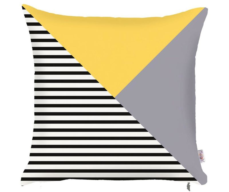 Povlak na polštář Lara Yellow 43x43 cm