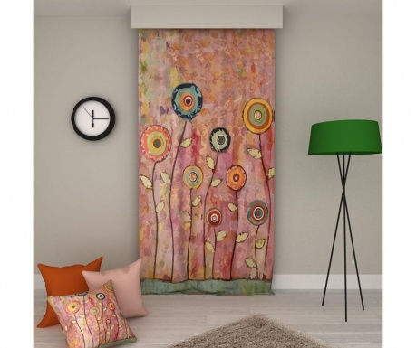 Zastor Flowers 140x250 cm
