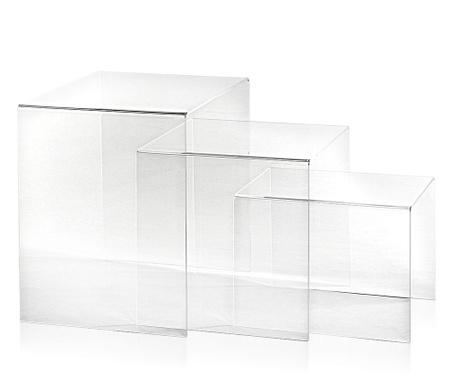 Set 3 masute Trix Transparent