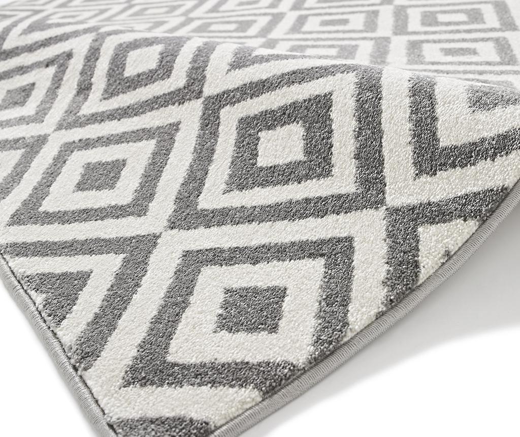 Koberec Matrix Grey White 160x220 cm